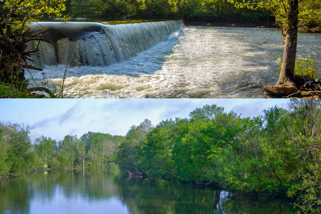 """Historic """"Little River Mill"""" Property for Sale Featuring 7 Acres on"""
